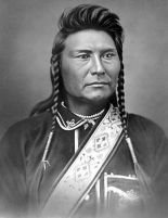 Chief Joseph of Nez Percé.